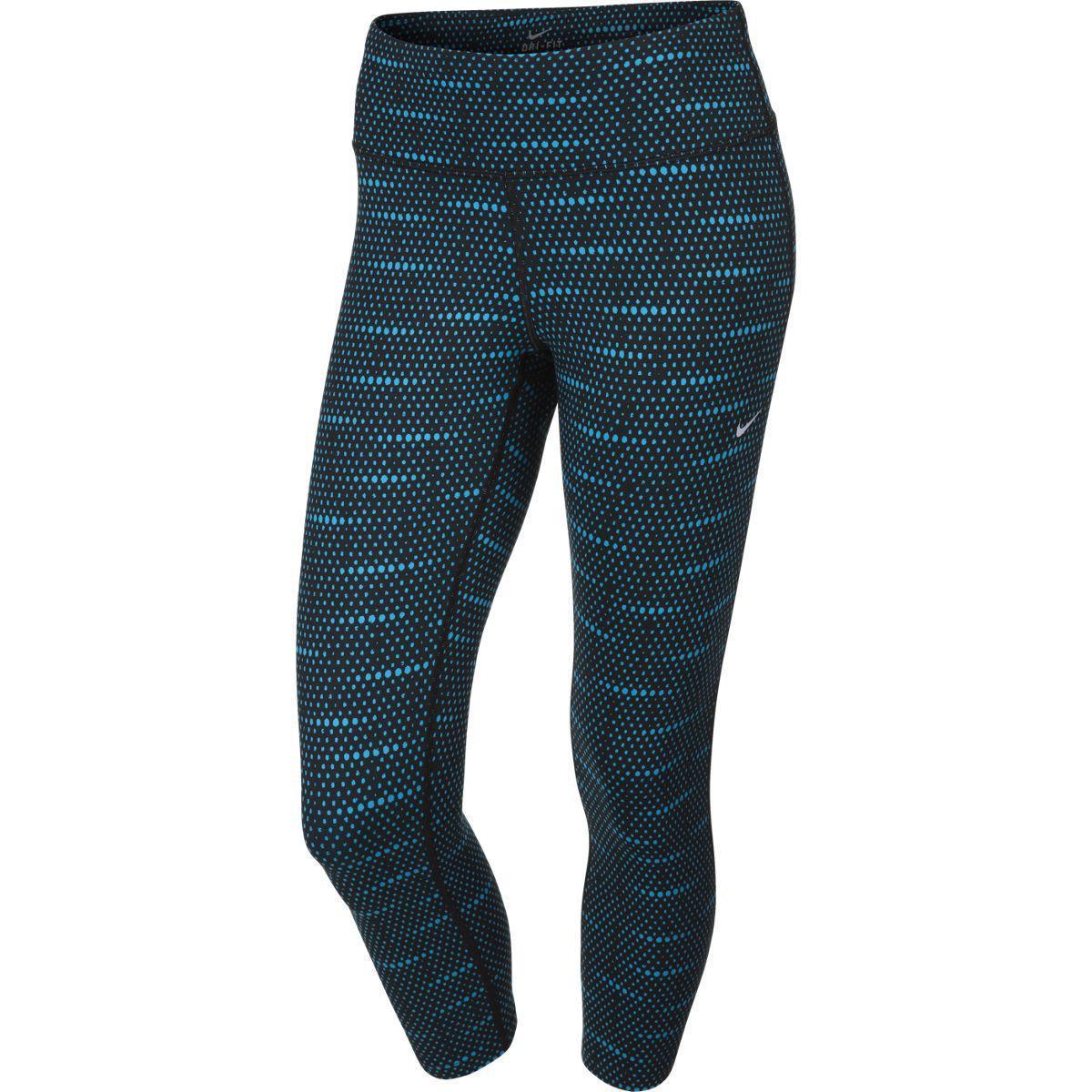 Nike Womens Dri-FIT Epic Run Tights - Black Blue Lagoon Reflective Silver -  Tennisnuts.com 63609b77a2