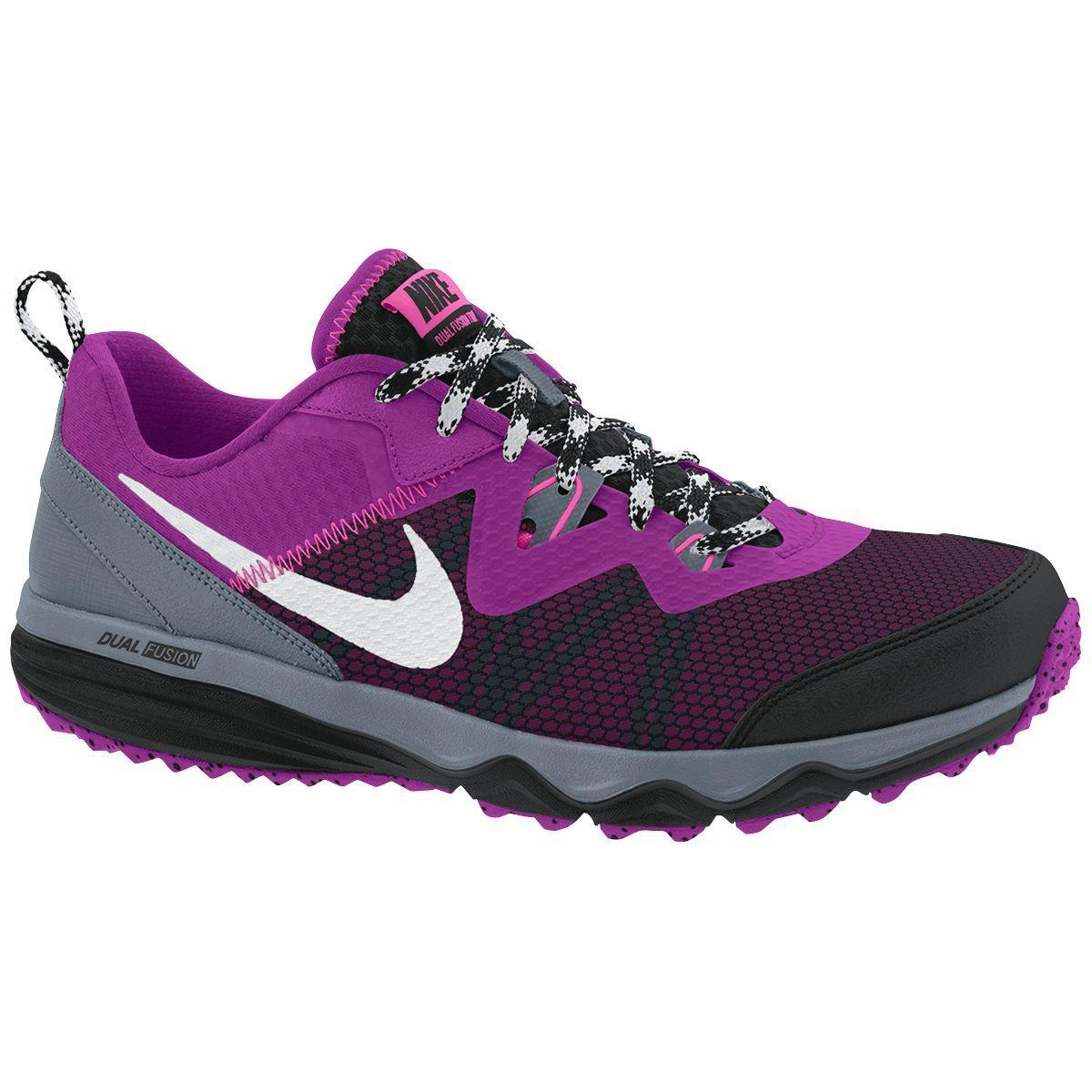 Model Nike Zoom Wildhorse - Womens Trail Running Shoes - Purple/Navy/Orange Online | Sportitude
