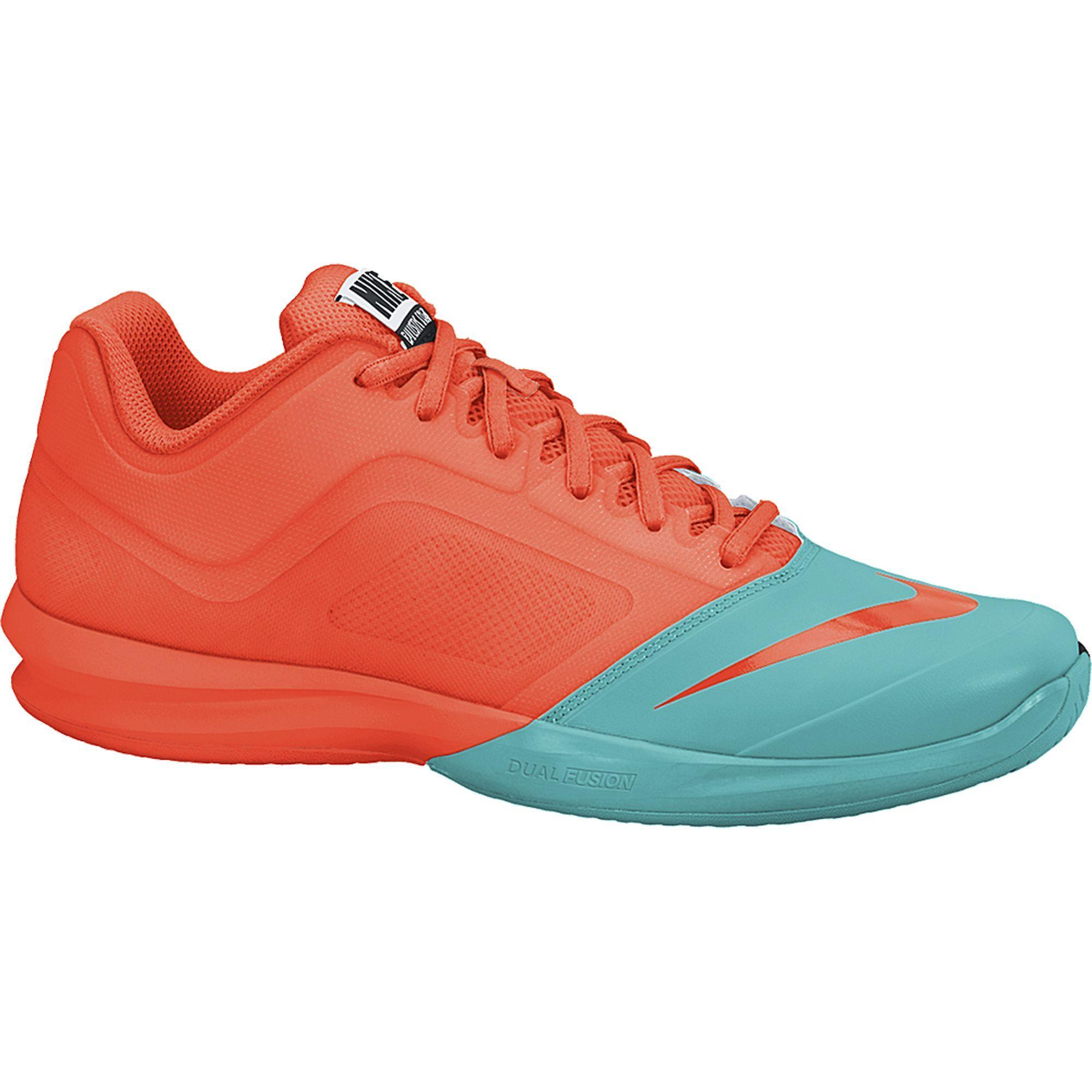 Nike Mens Dual Fusion Ballistec Advantage Tennis Shoes - Hyper  Crimson Dusty Cactus - Tennisnuts.com 0879648a2f