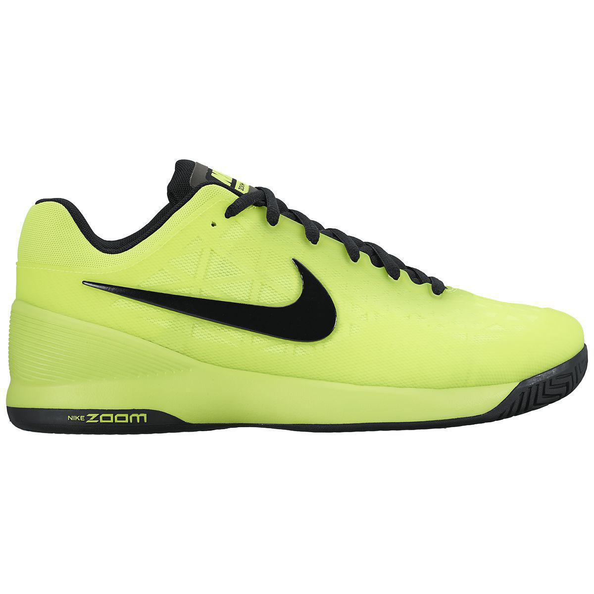 Nike Kids Zoom Cage 2 Tennis Shoes - Volt/Black ...