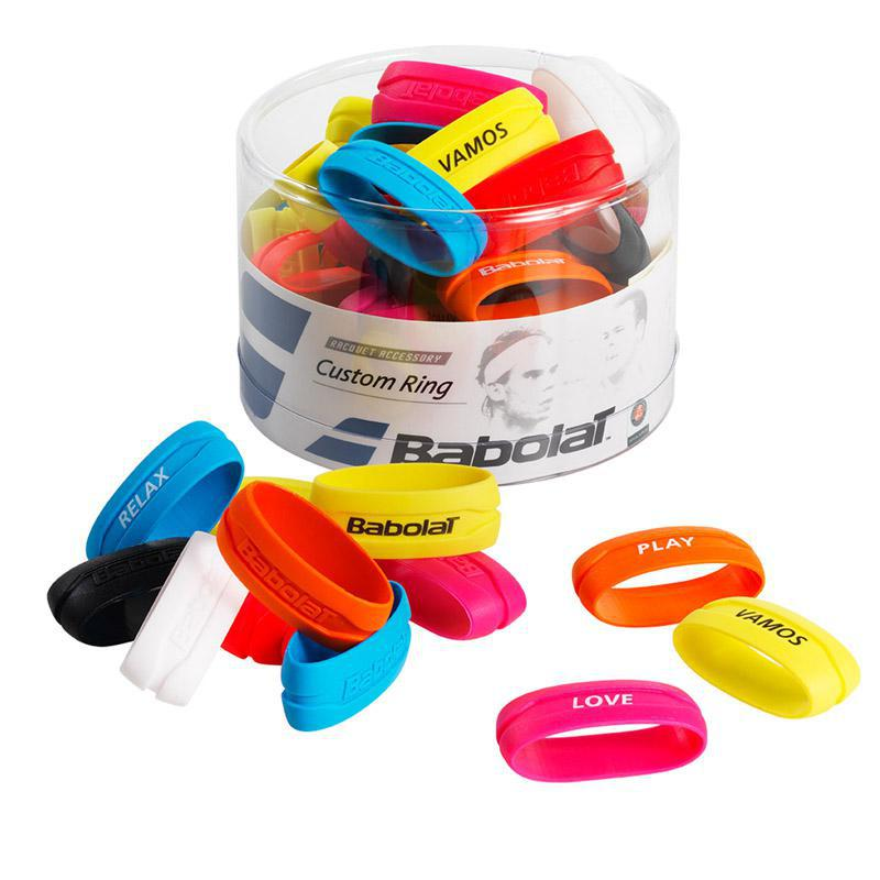 Babolat Custom Ring Pack Of 60 Assorted Colours
