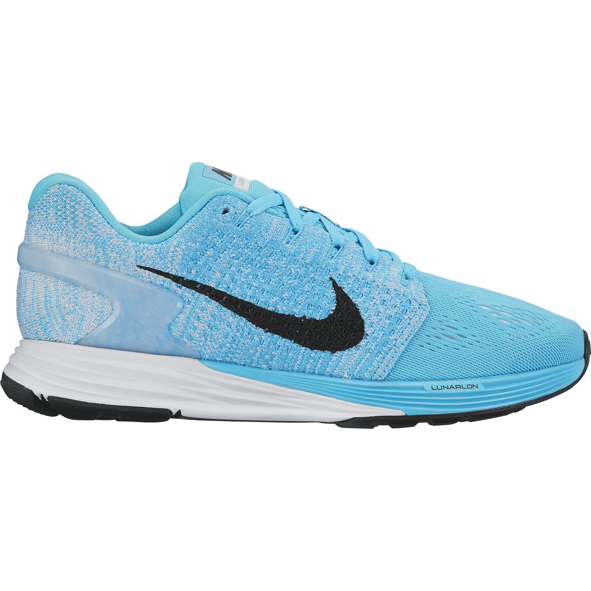 nike womens lunarglide 7 running shoes blue tennisnutscom