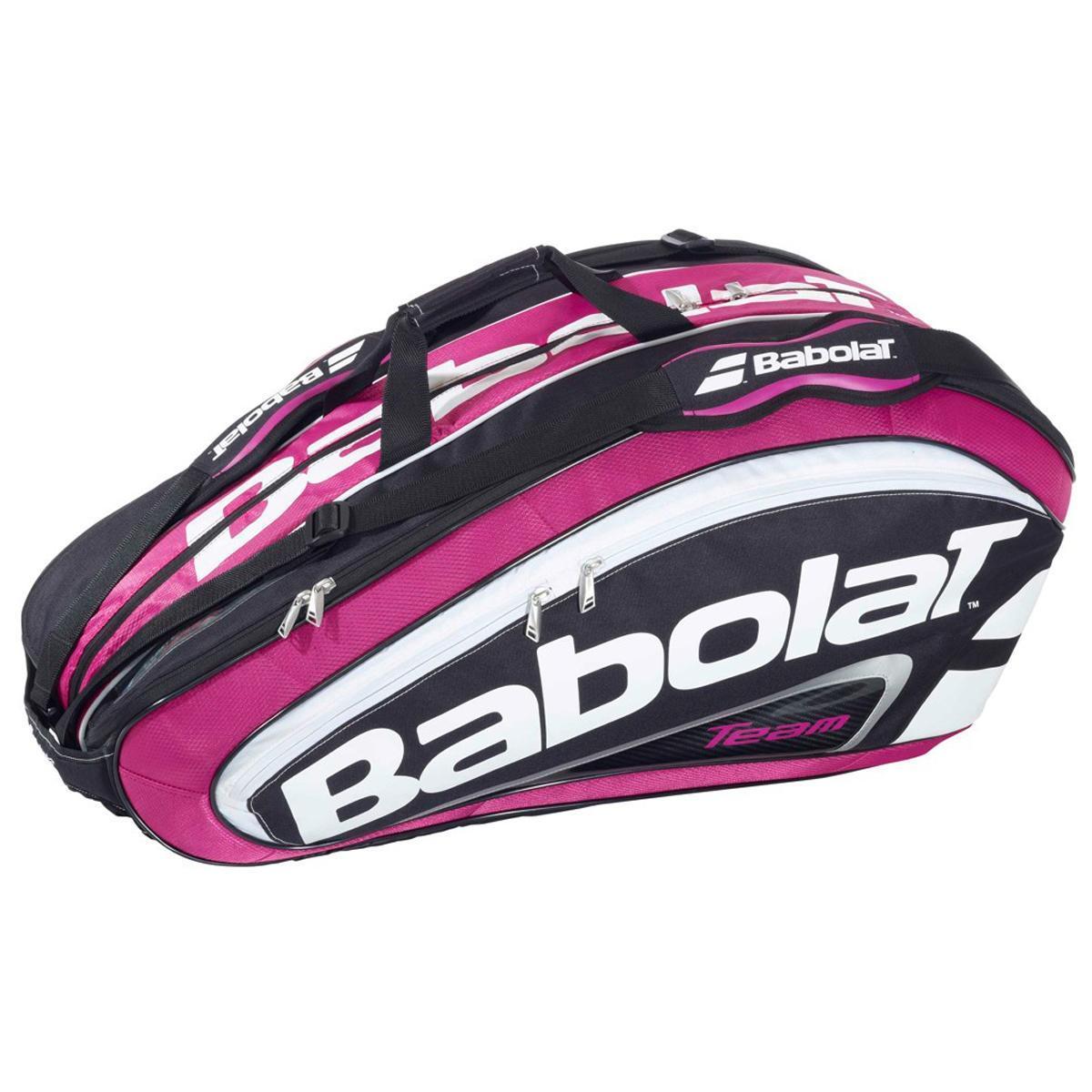 Babolat Team Line 12 Racket Tennis Bag - Pink - Tennisnuts.com