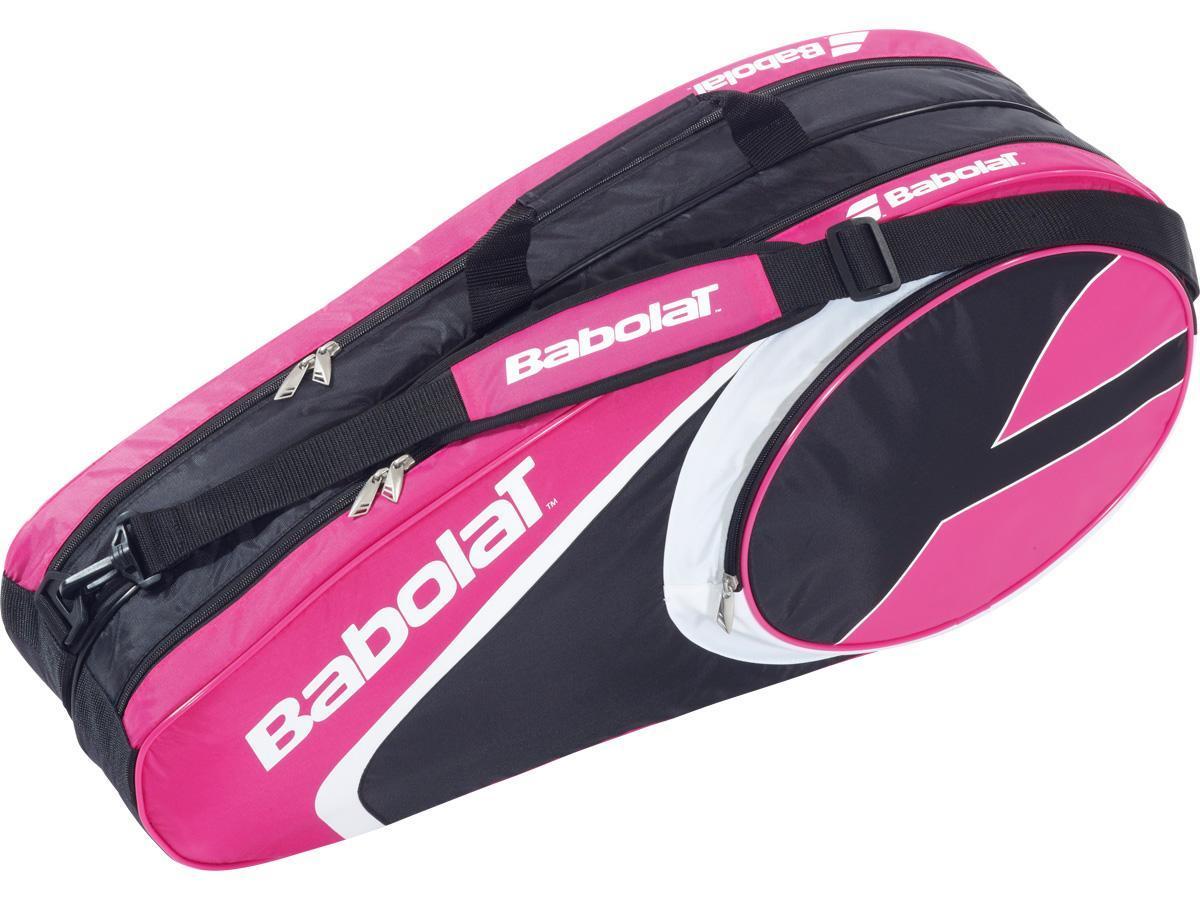 Babolat Club Line 6 Racket Tennis Bag - Pink (2014 ...