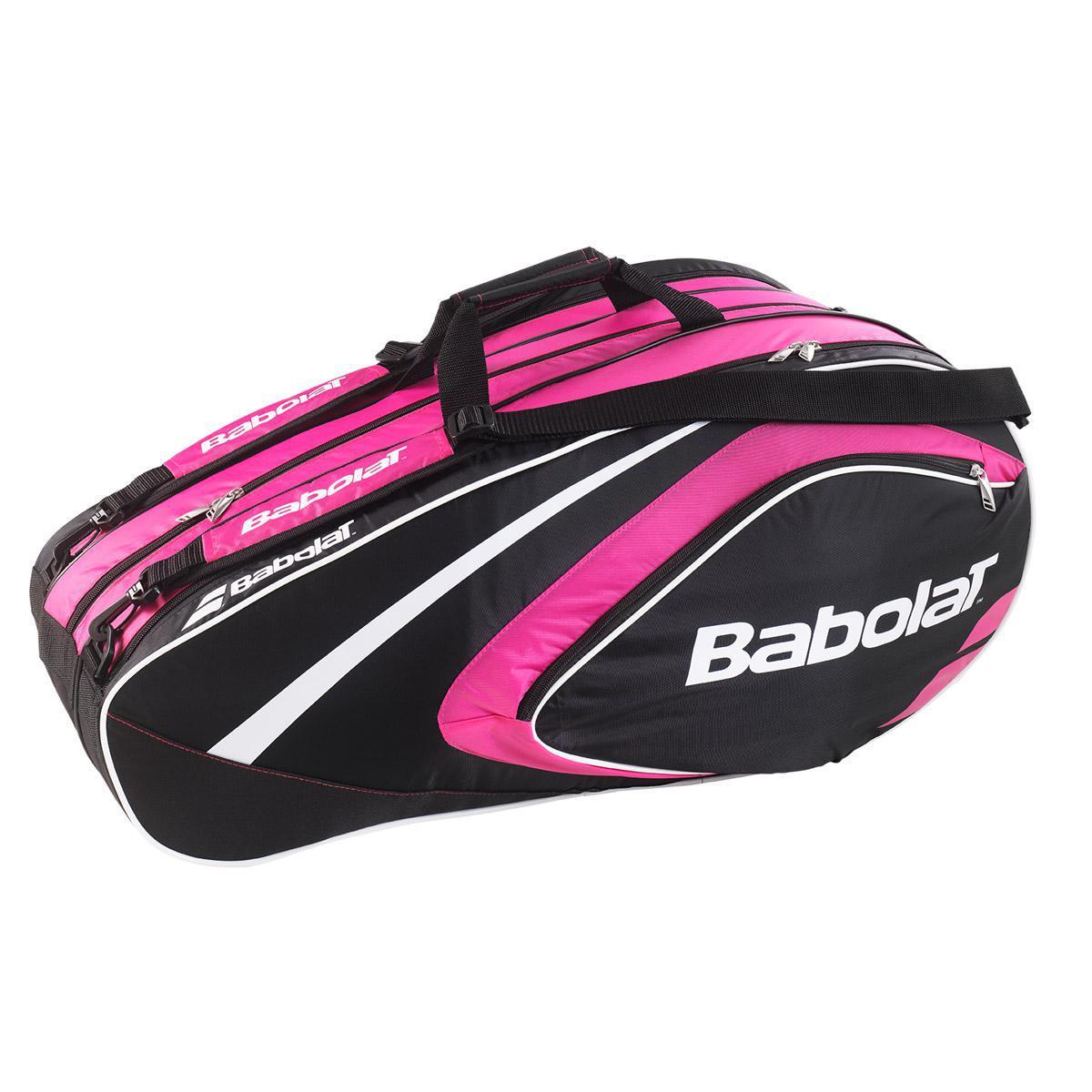 Babolat Club Line 12 Racket Bag - Pink - Tennisnuts.com