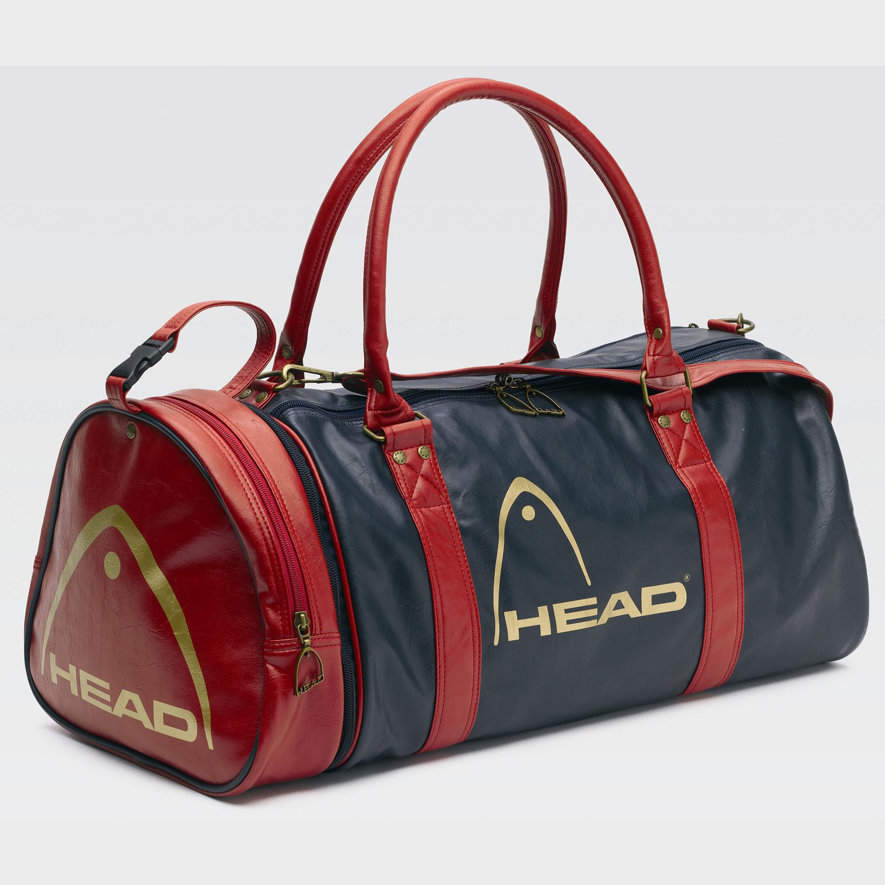 e586f5aa27 Head Retro Monte Carlo Holdall - Navy Red - Tennisnuts.com