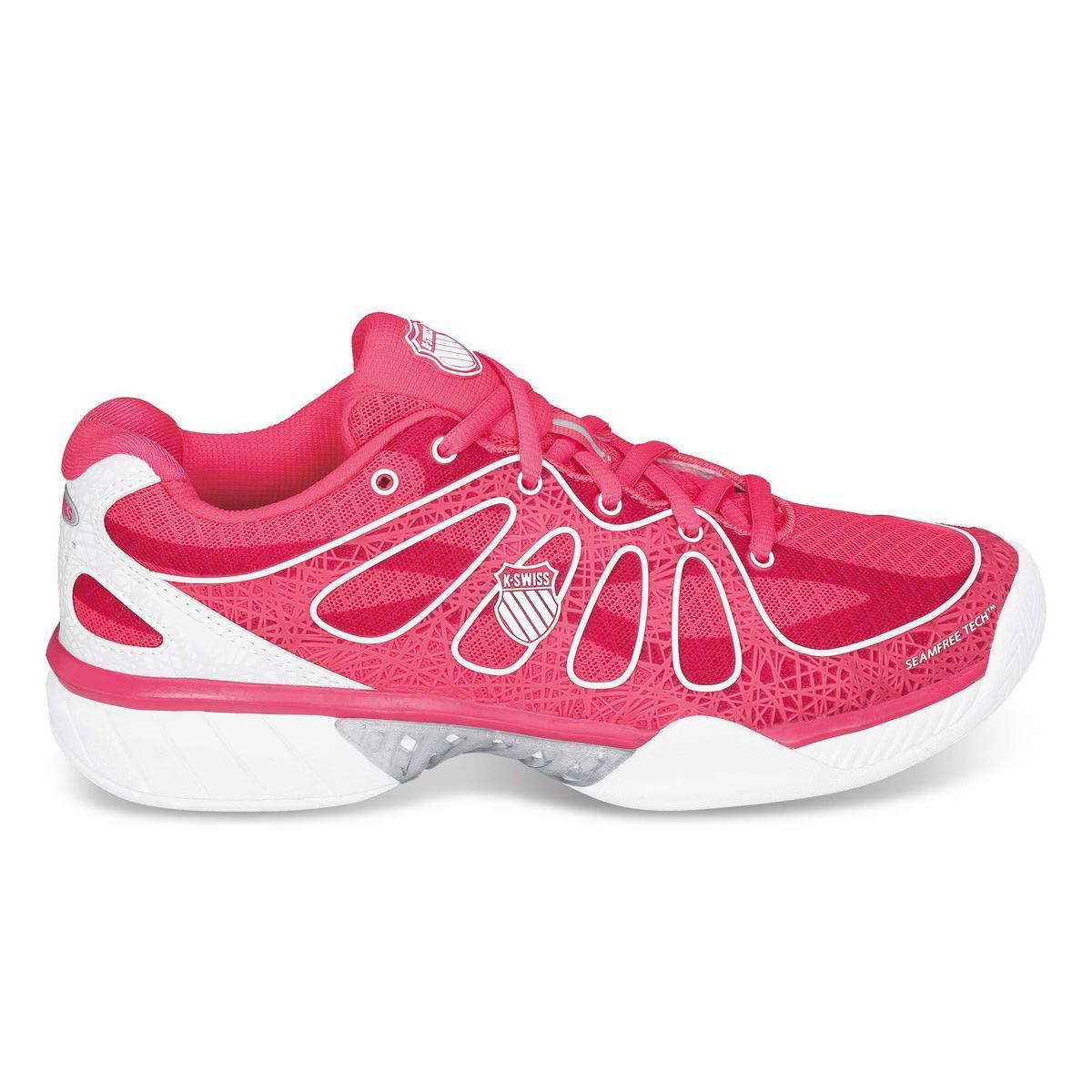 Ks Tfw Ultra-Express-neon Red/White, Womens Tennis K-Swiss