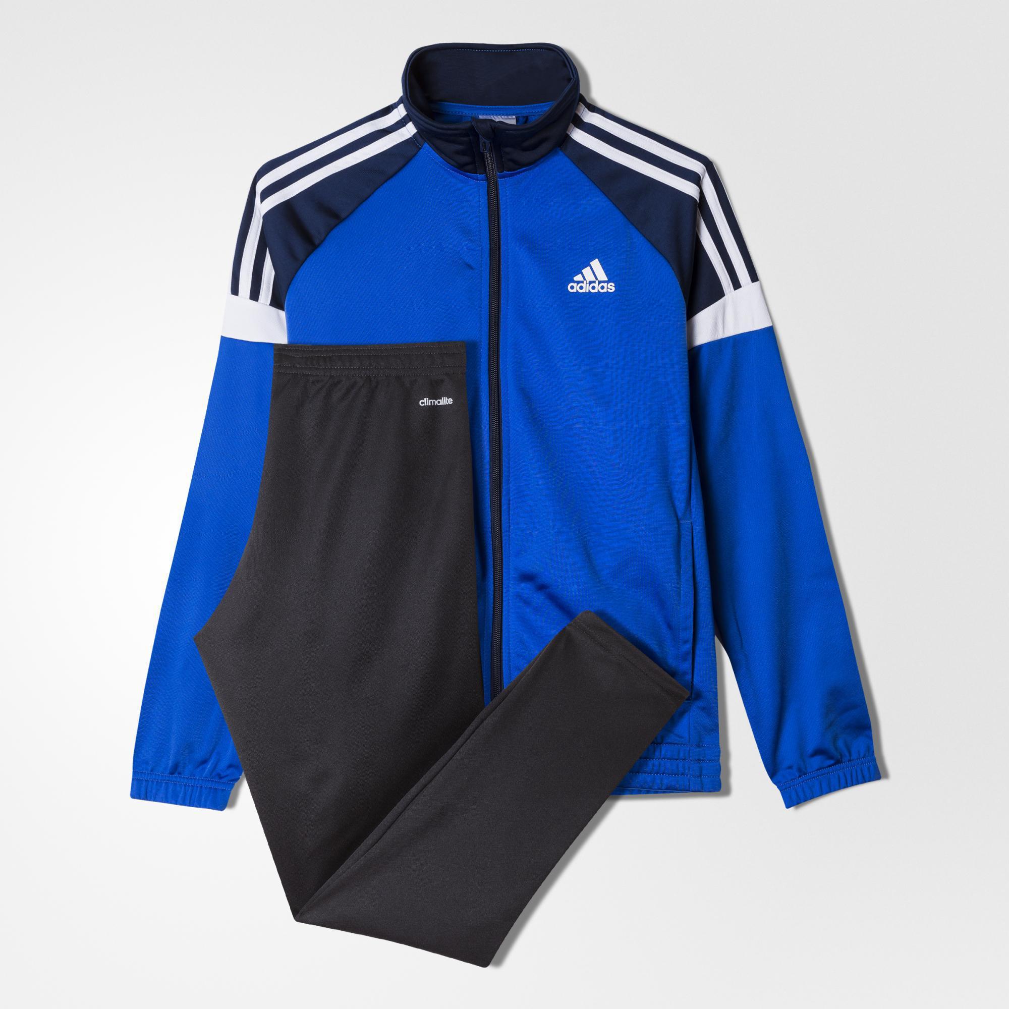 da06a41607a2 Adidas Boys Tiberio Tracksuit - Blue Navy - Tennisnuts.com