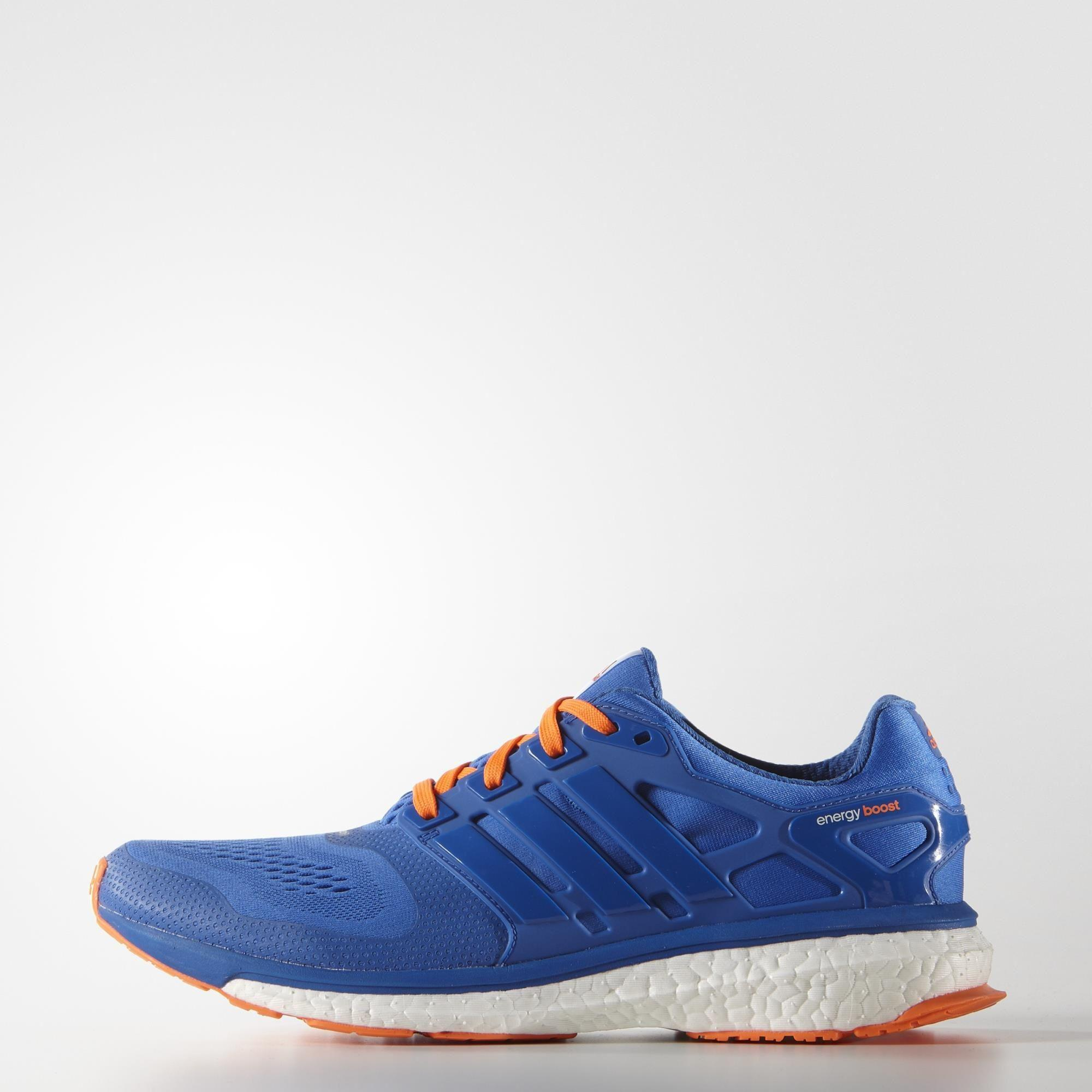 buy popular 1fd1d 68bda Adidas Mens Energy Boost ESM Running Shoes - BlueOrange - Tennisnuts.com