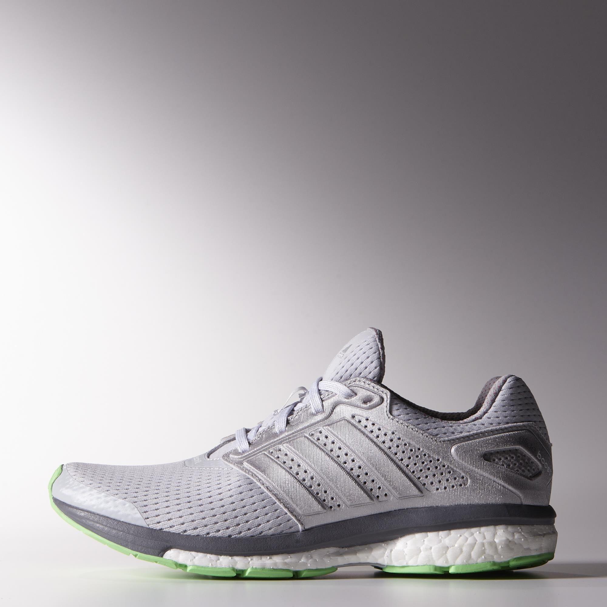 bf283a73a Adidas Womens Supernova Glide 7 Running Shoes - Grey Green - Tennisnuts.com