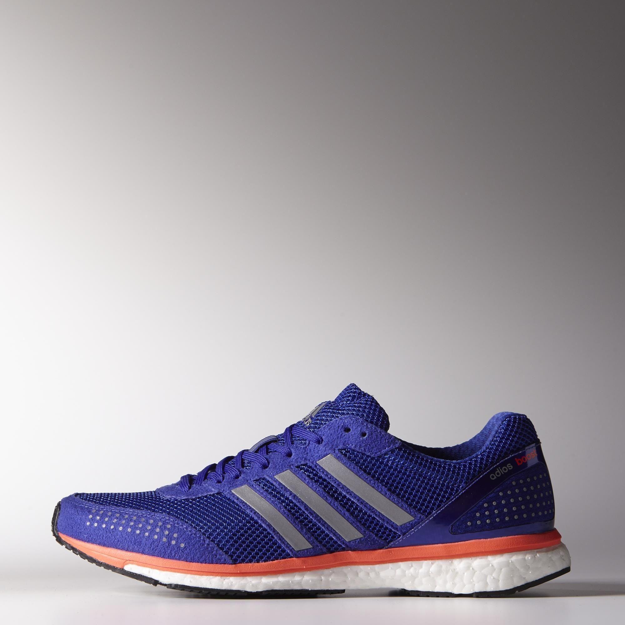 adidas mens adizero adios boost 2 0 running shoes night flash orange. Black Bedroom Furniture Sets. Home Design Ideas