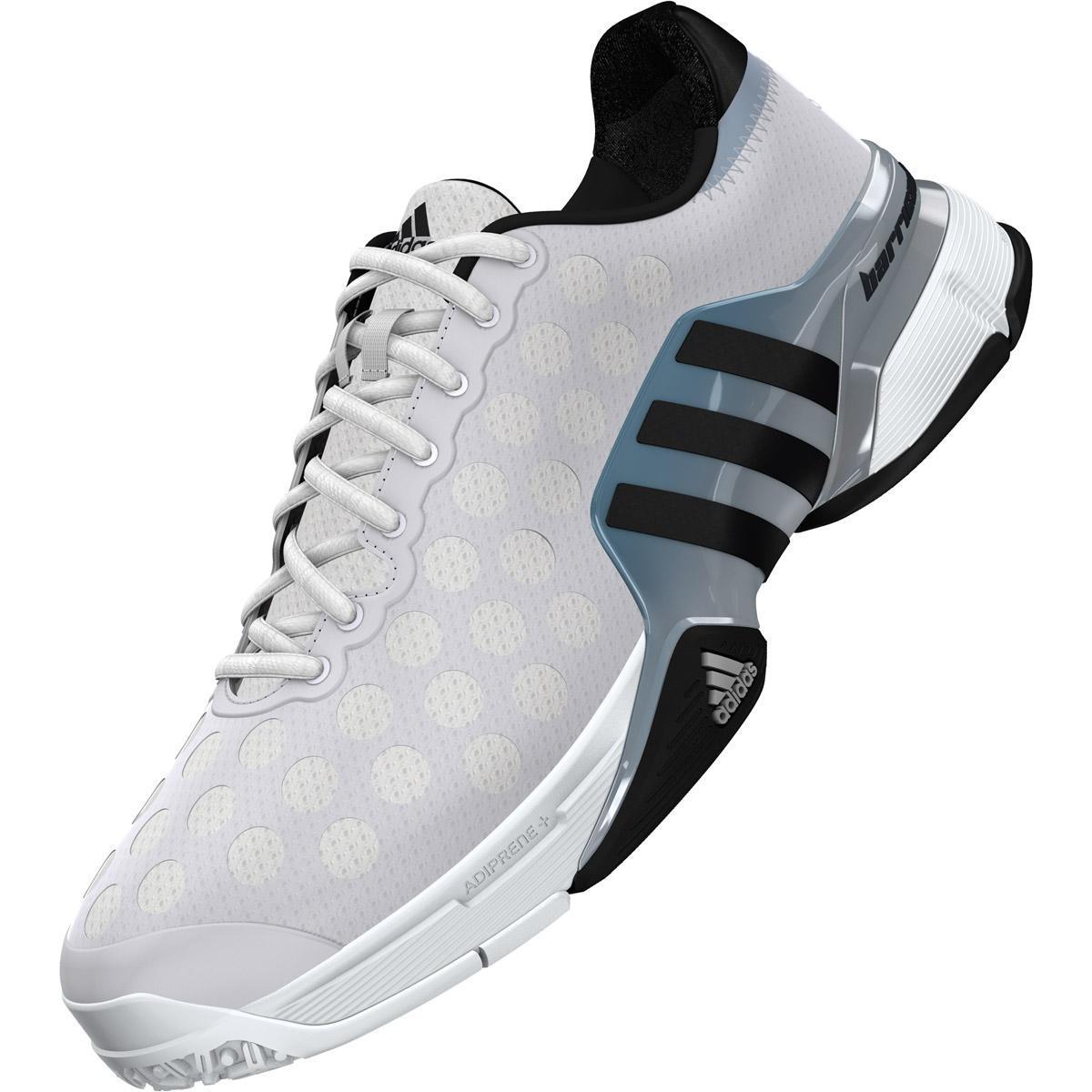 adidas mens barricade 2015 court tennis shoes white