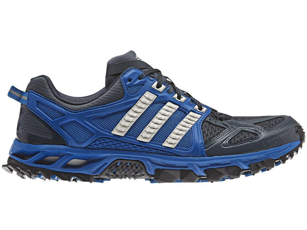 Adidas Mens Kanadia Tr 6 Running Shoes Blue