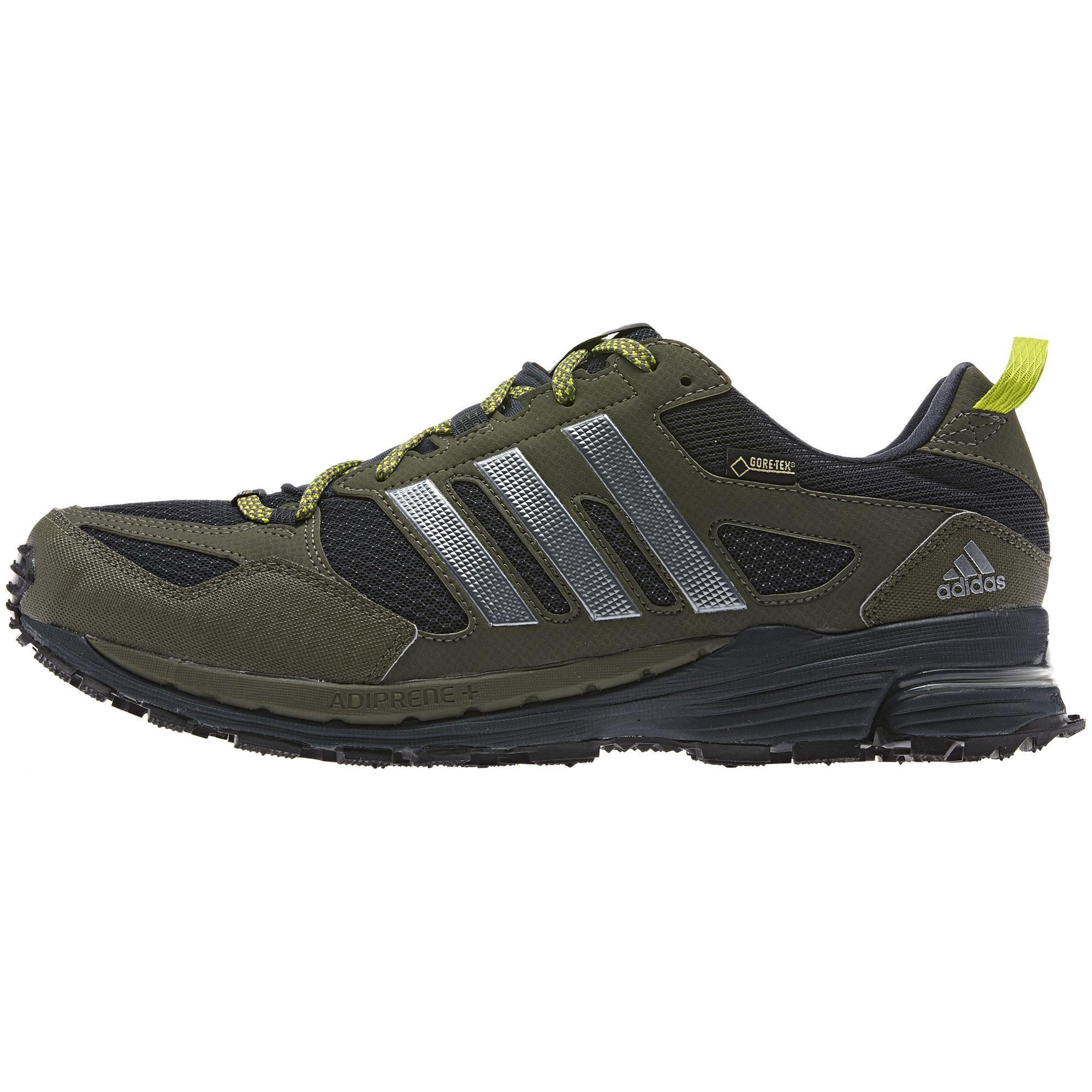 707cd5a7cd01b Adidas Mens Supernova Riot 5 GTX Running Shoes - Green