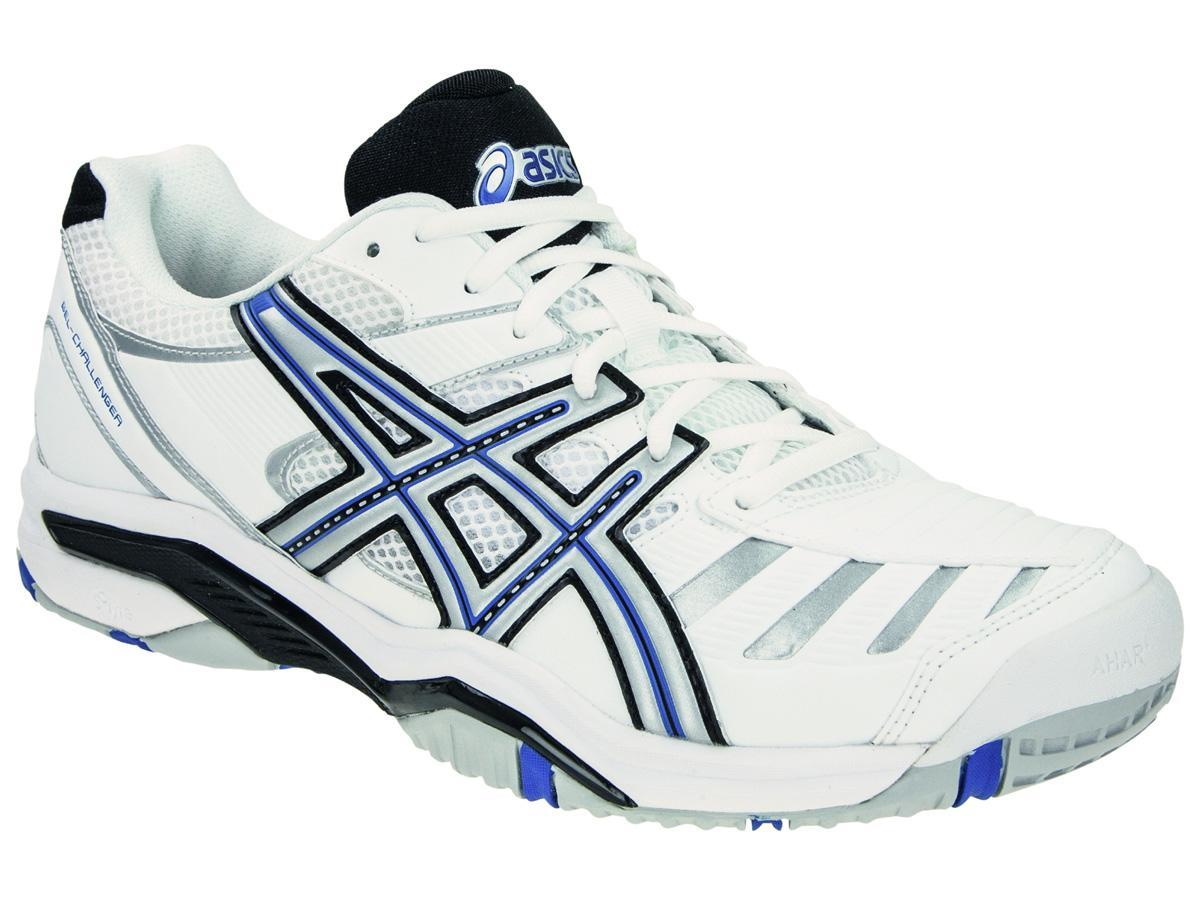meilleures baskets c9345 0f22d Asics Mens GEL Challenger 9 Tennis Shoes - White/Blue