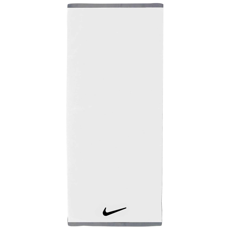 109387f8 Nike Fundamental Large Towel - White - Tennisnuts.com