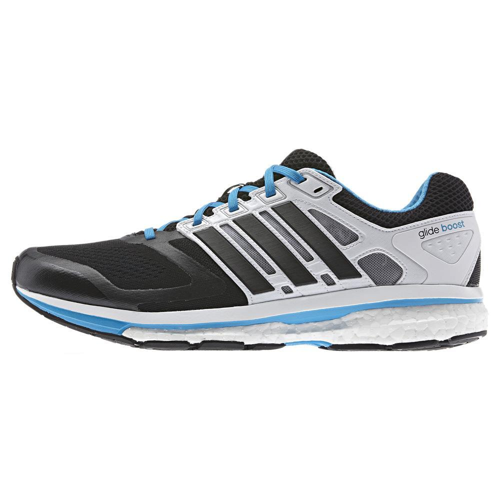 Adidas Mens Supernova Glide Boost 6 Running Shoes - Black ...