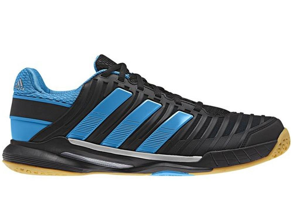 Adidas Mens adiPower Stabil 10.1 Indoor Court Shoes - Black/Blue