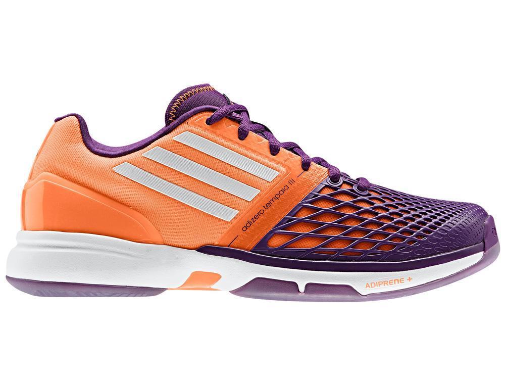 adidas womens adizero tempaia 3 tennis shoes purple