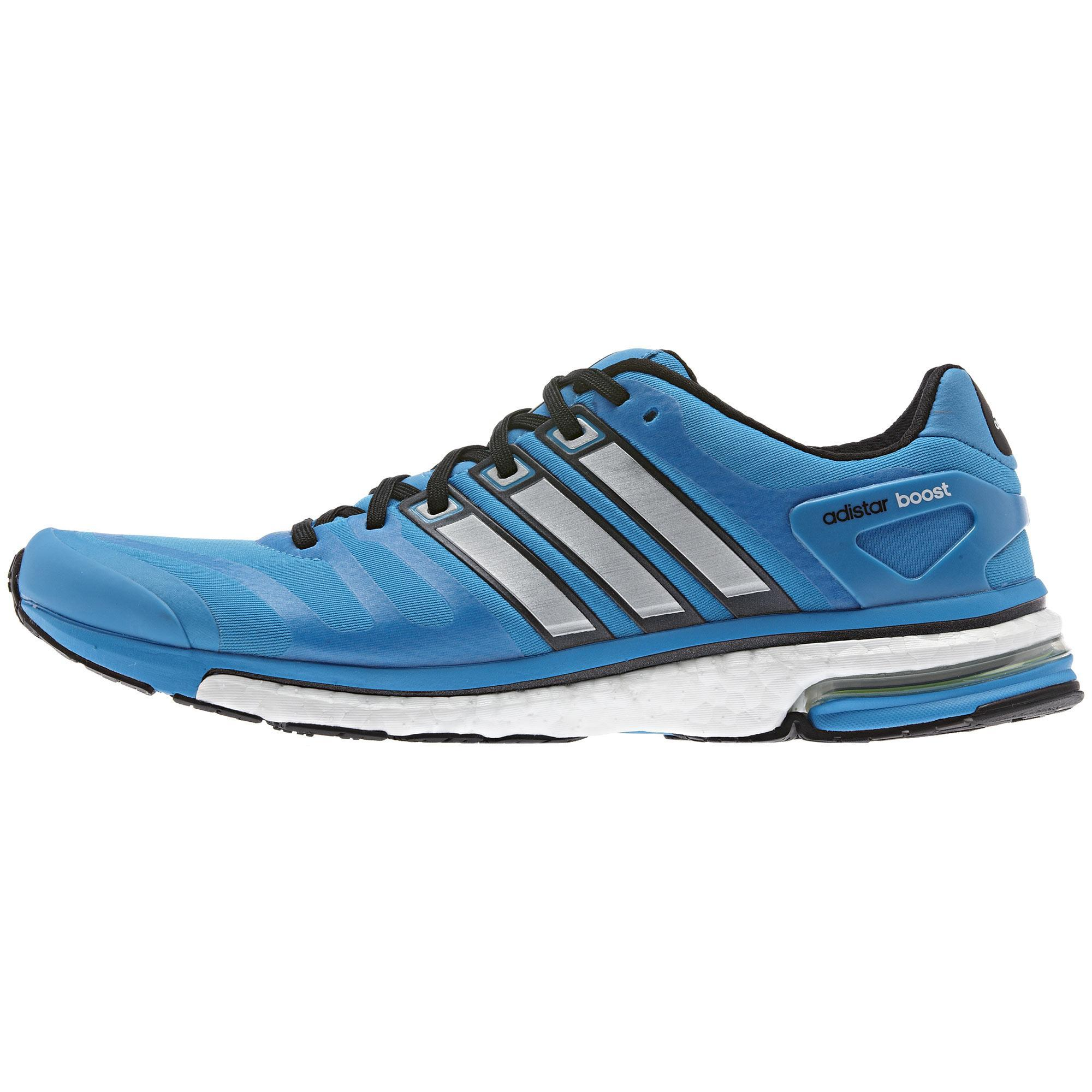 Adidas Mens Adistar Boost Running Shoes - Blue