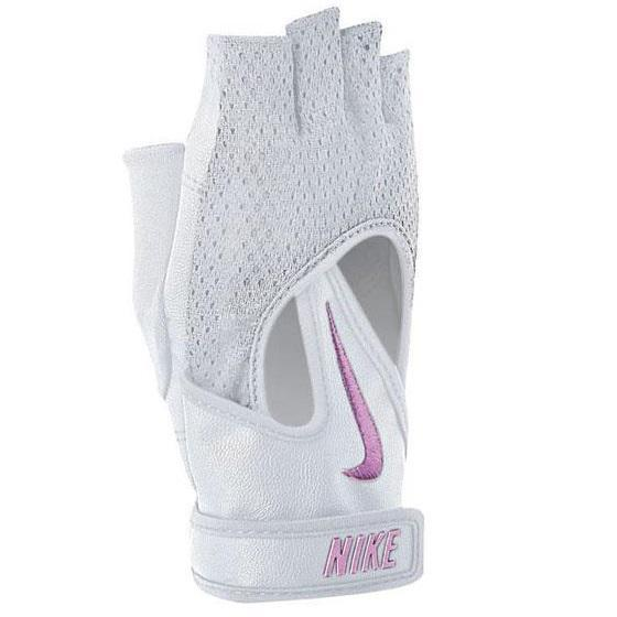 factory price amazing selection get online Nike Womens Pro Elevate Training Gloves - White/Club Pink