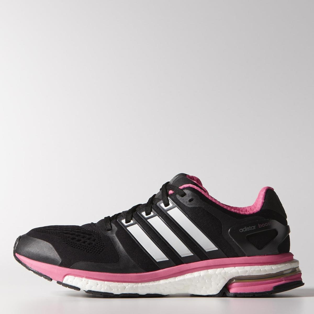 Adidas Adizero Boston Boost 6 Womens Pink Orange Sneakers ...