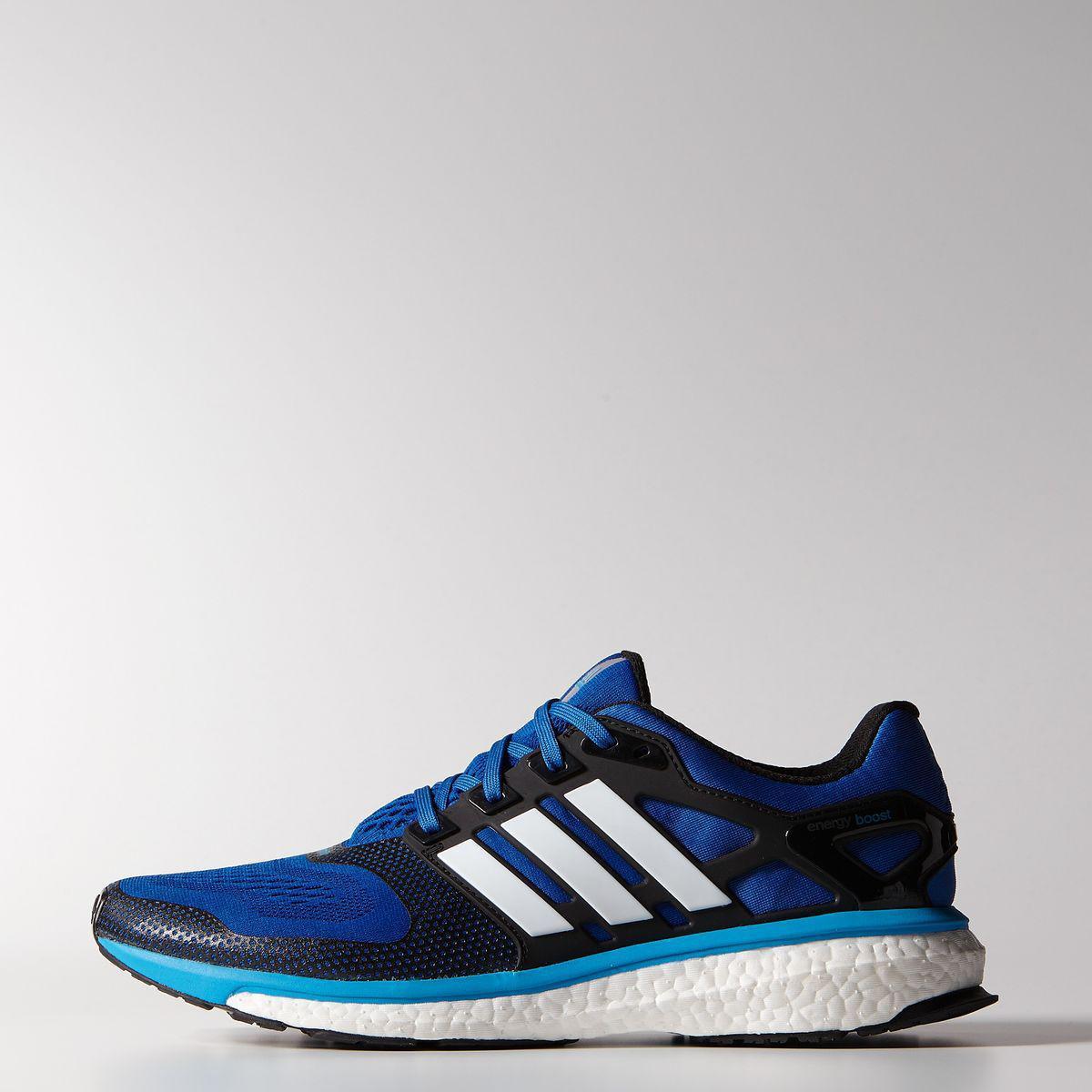 designer fashion bec1c 983c7 Adidas Mens Energy Boost 2.0 ESM Running Shoes - Blue Beauty -  Tennisnuts.com