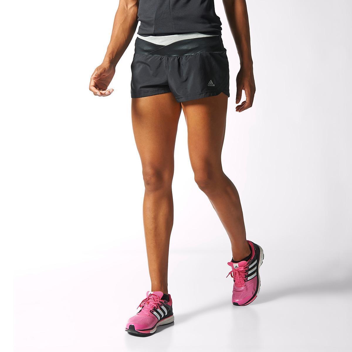 lapso Condensar Sofocante  Adidas Womens Supernova Glide Shorts - Black/Grey - Tennisnuts.com