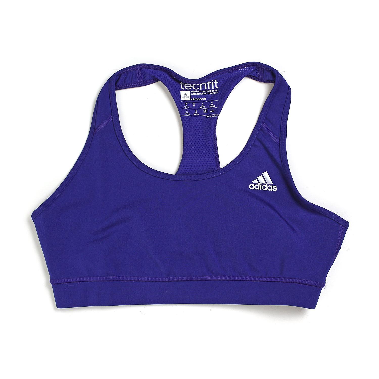 06f4e1d904 Adidas TechFit Sports Bra - Amazon Purple