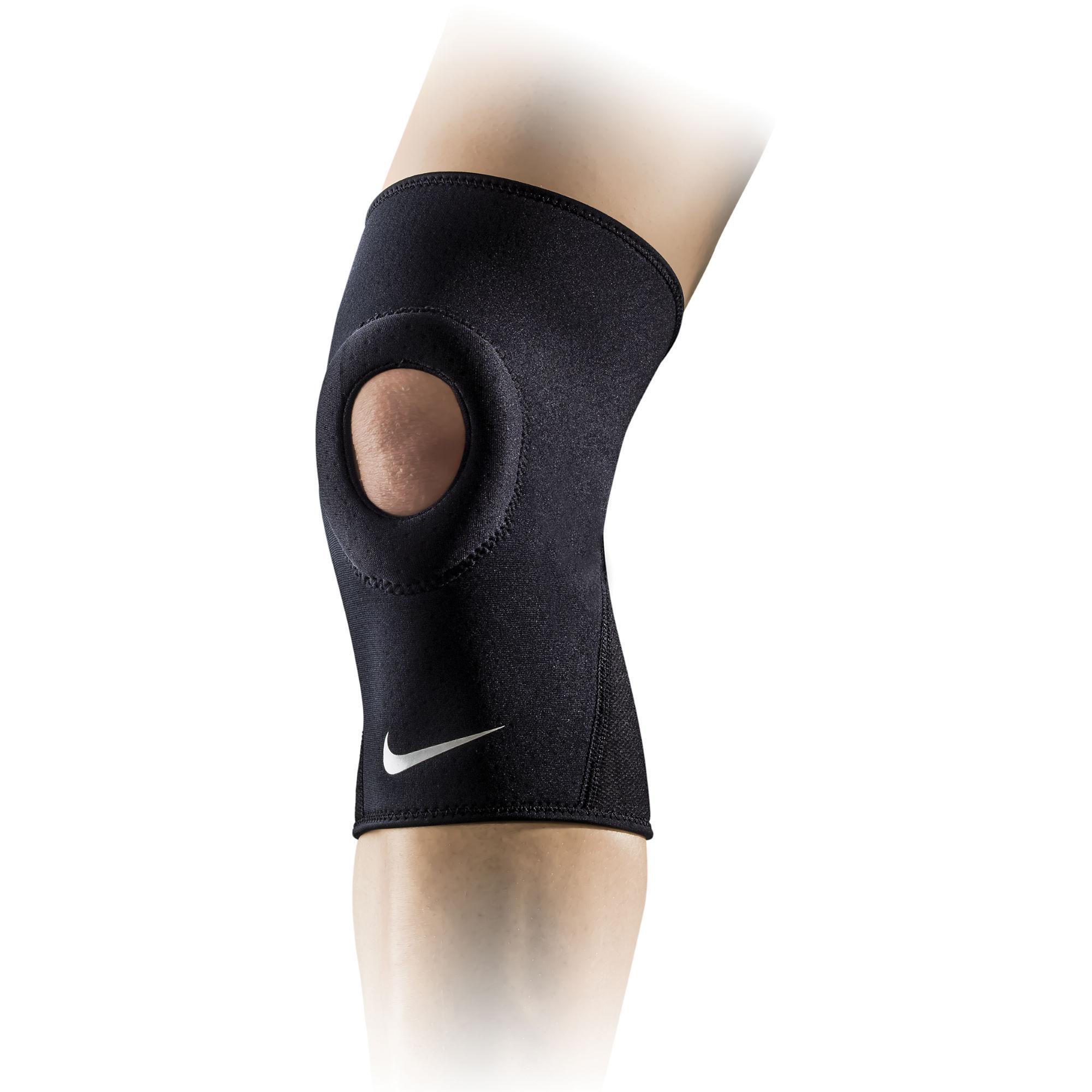 kedvezményes üzlet designer divat népszerű üzletek Nike Pro Combat Open Patella Knee Sleeve 2.0 - Black - Tennisnuts.com