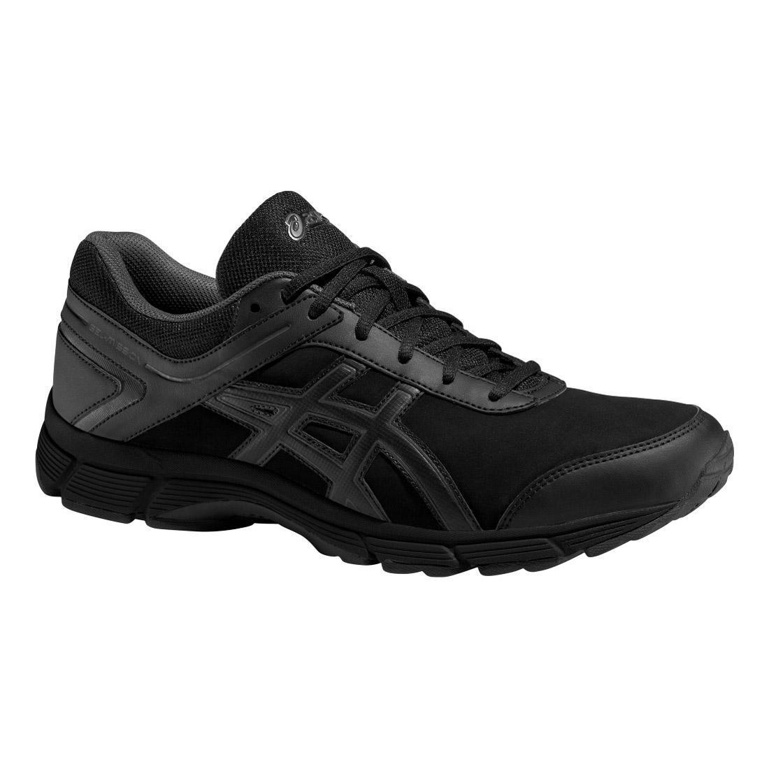 01e16d662450 Asics Mens GEL-Mission Walking Shoes - Black - Tennisnuts.com