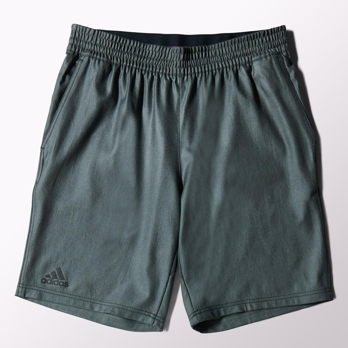 Adidas Mens Adizero Bermuda Shorts - Solid Grey/Gun Metal
