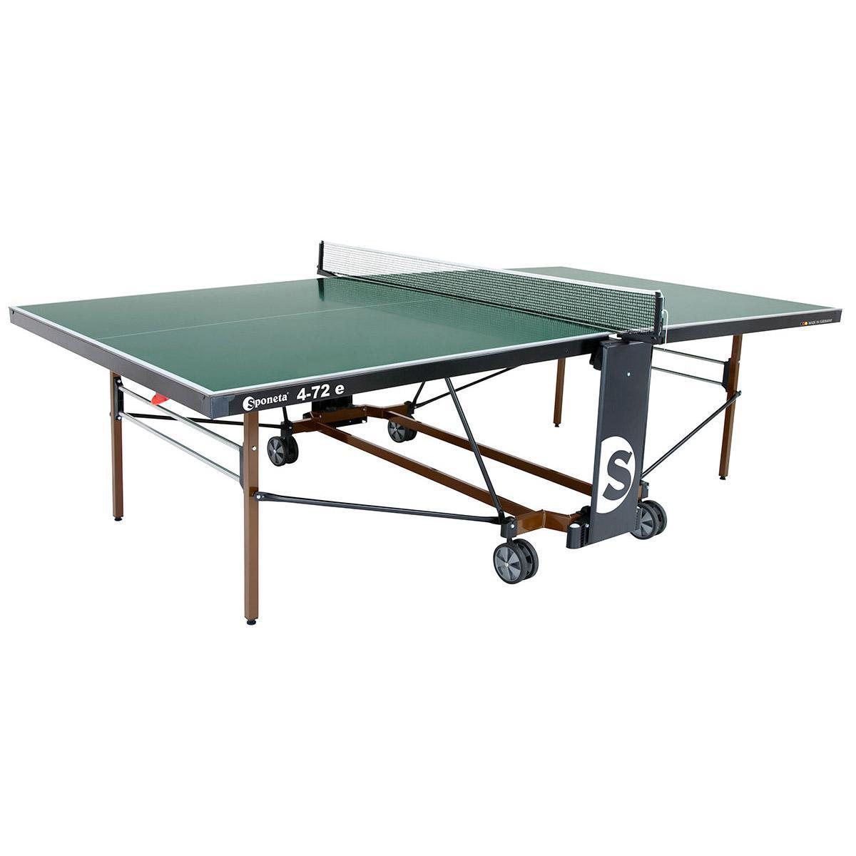 Sponeta expertline compact playback 19mm indoor table tennis table green - Sponeta table tennis table ...