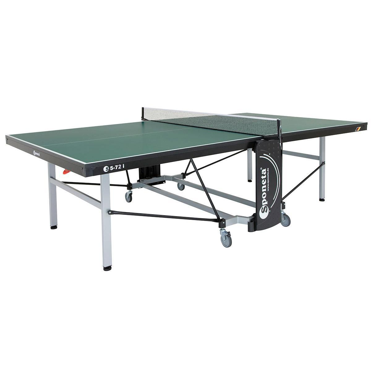 Sponeta schooline compact 22mm indoor table tennis table green - Sponeta table tennis table ...