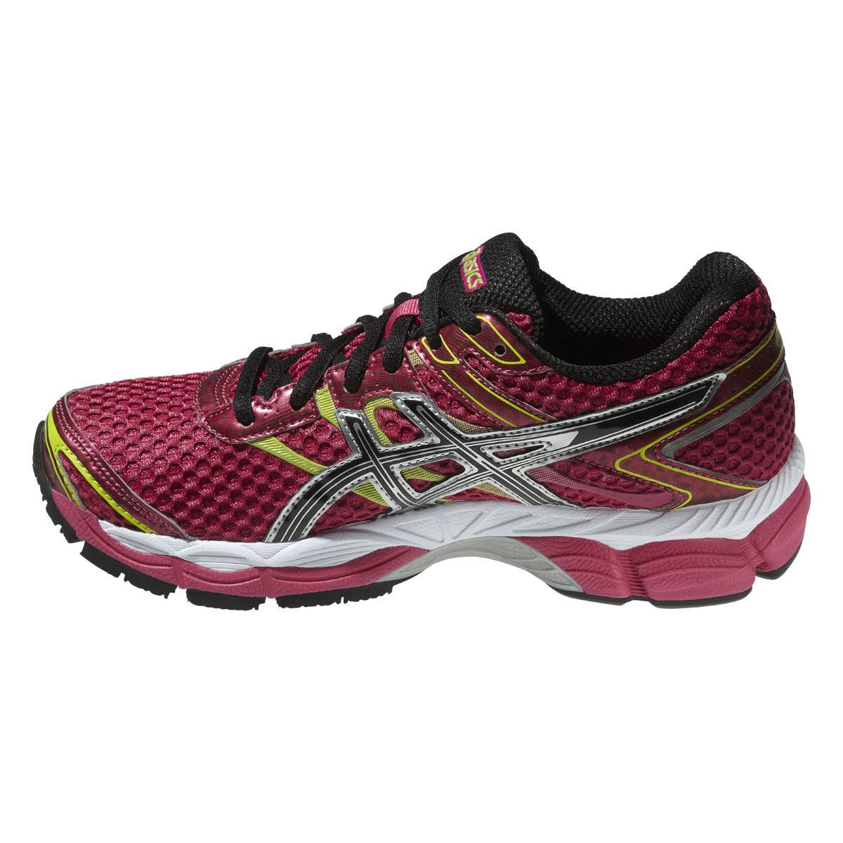 asics womens gel cumulus 16 running shoes raspberry black lime. Black Bedroom Furniture Sets. Home Design Ideas