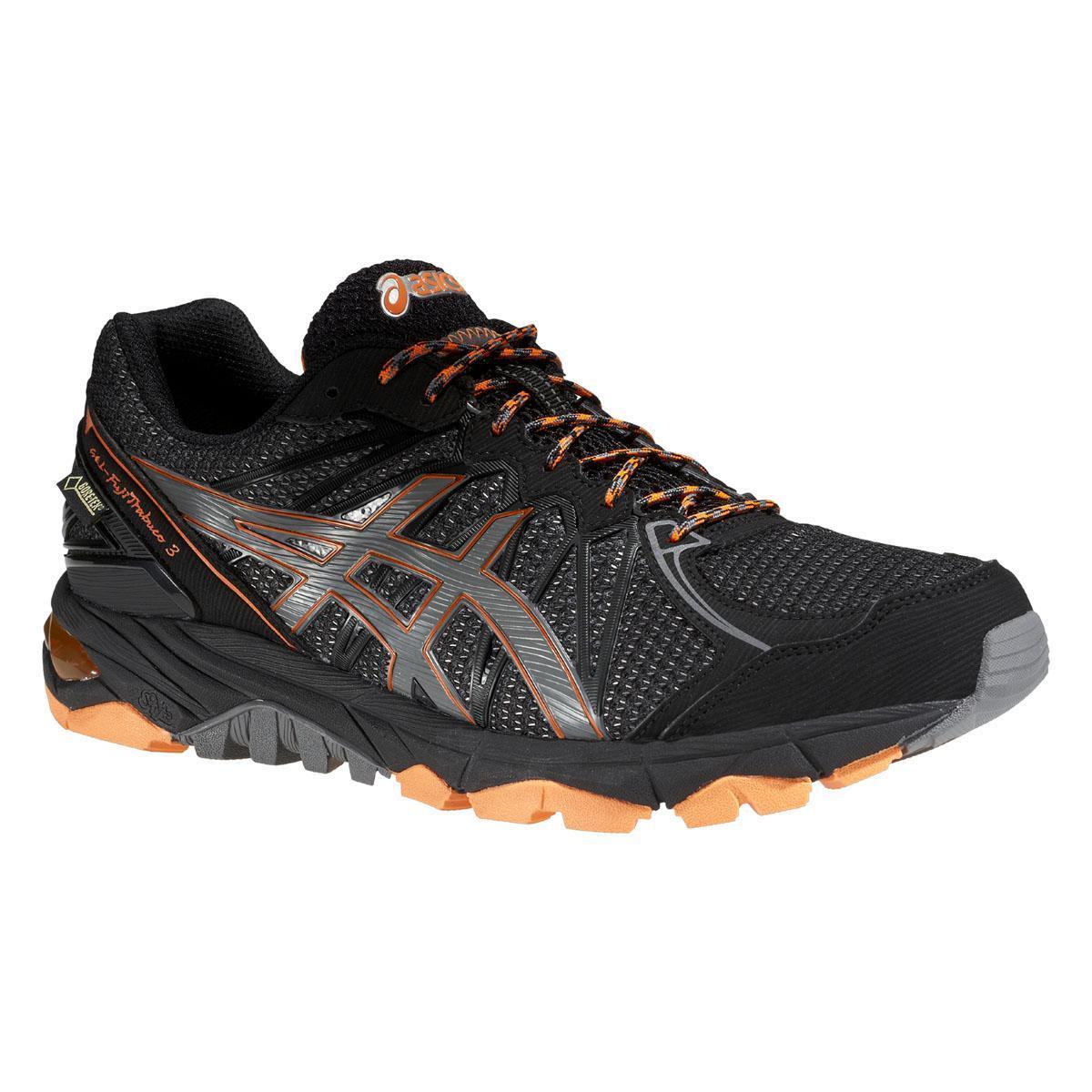 Mens Gel Tx 3 Shoes Trail G Running Fuji Trabuco Asics Blackorange IeD29HYWE
