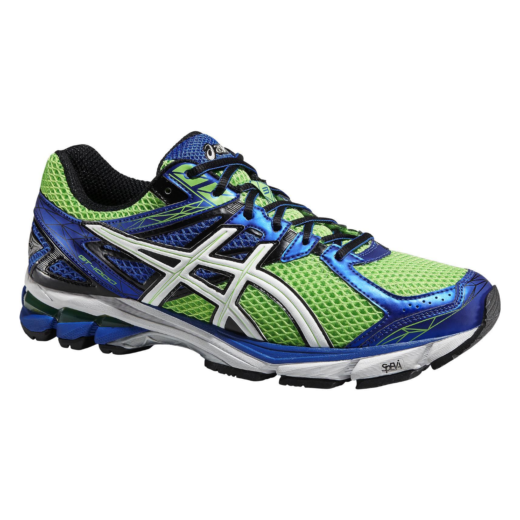 Asics Neon Green Running Shoes