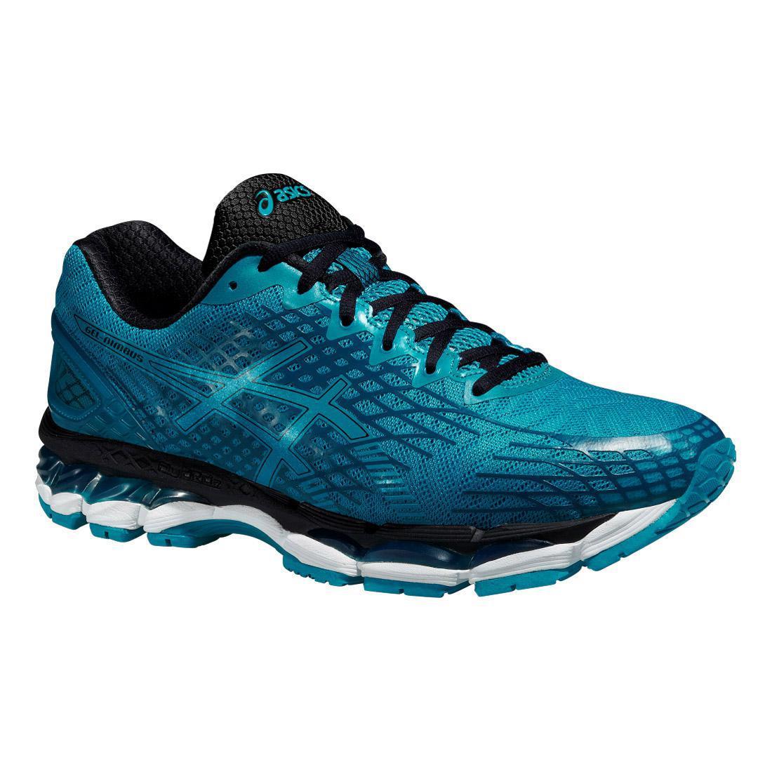 asics mens gel nimbus 17 lite show running shoes blue. Black Bedroom Furniture Sets. Home Design Ideas