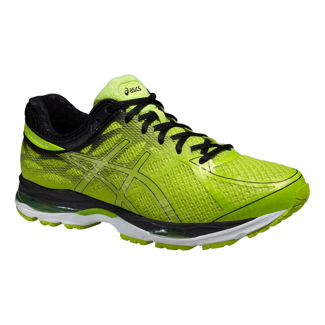 Asics Mens GEL Cumulus 17 Lite Show Running Shoes Yellow