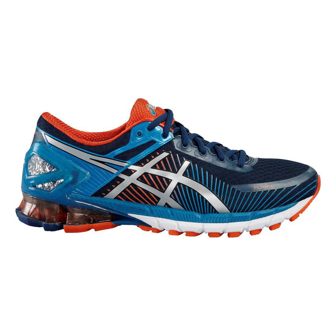 c9504a2e025 Asics Mens GEL-Kinsei 6 Running Shoes - Blue Orange - Tennisnuts.com