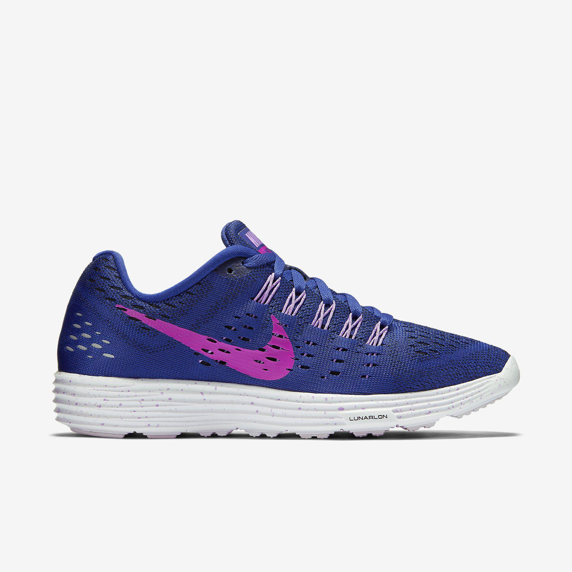 7e30857b1a9a Nike Womens LunarTempo Running Shoes - Deep Royal Blue Fuchsia -  Tennisnuts.com