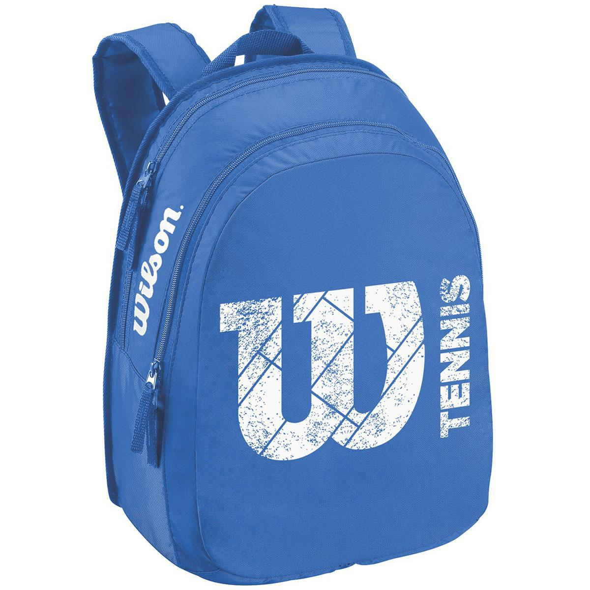 ca2b7f94225 Wilson Match Junior Backpack - Blue - Tennisnuts.com