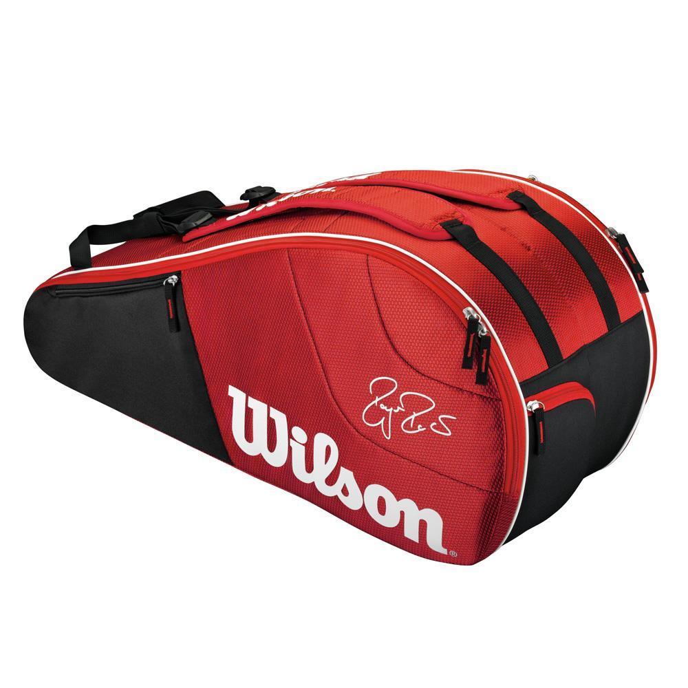 Wilson Federer Team 6 Pack Bag Red