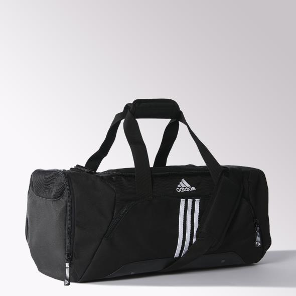 d78f14251068 Adidas 3-Stripes Essentials Team Bag Small - Black - Tennisnuts.com