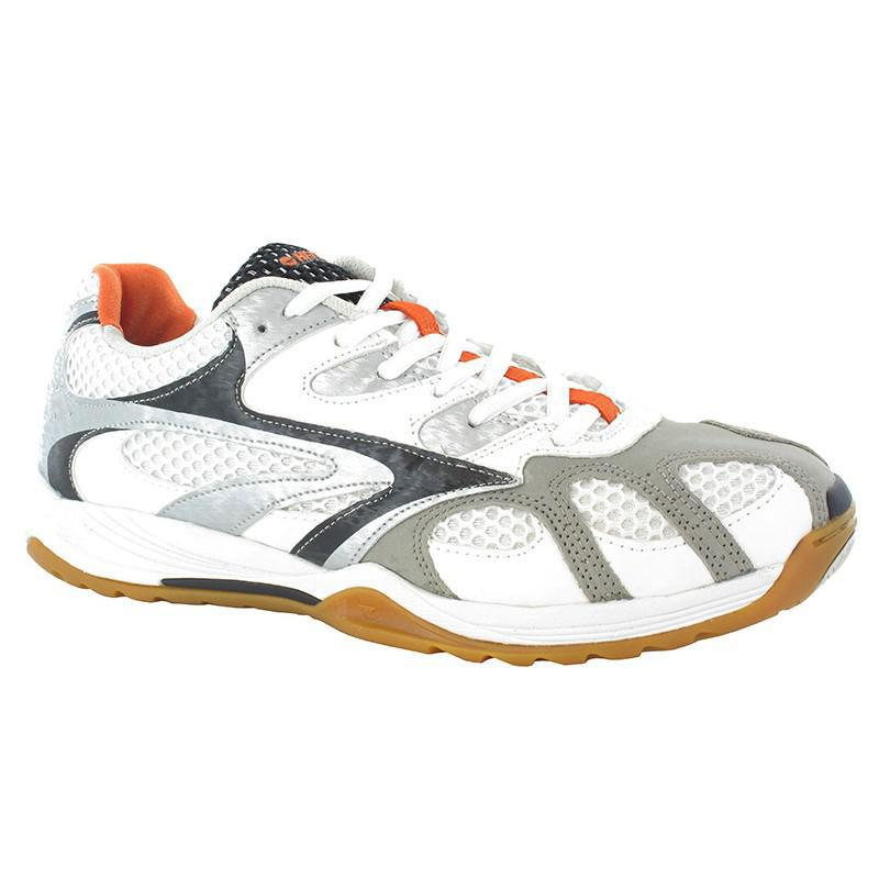 d7f33a21a6a5 Hi-Tec Mens Ad Pro Elite Squash Badminton Shoes - White - Tennisnuts.com