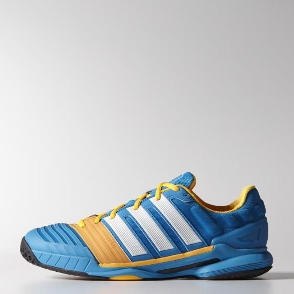 Adidas Mens adiPower Stabil 11 Indoor Shoes - Blue/White