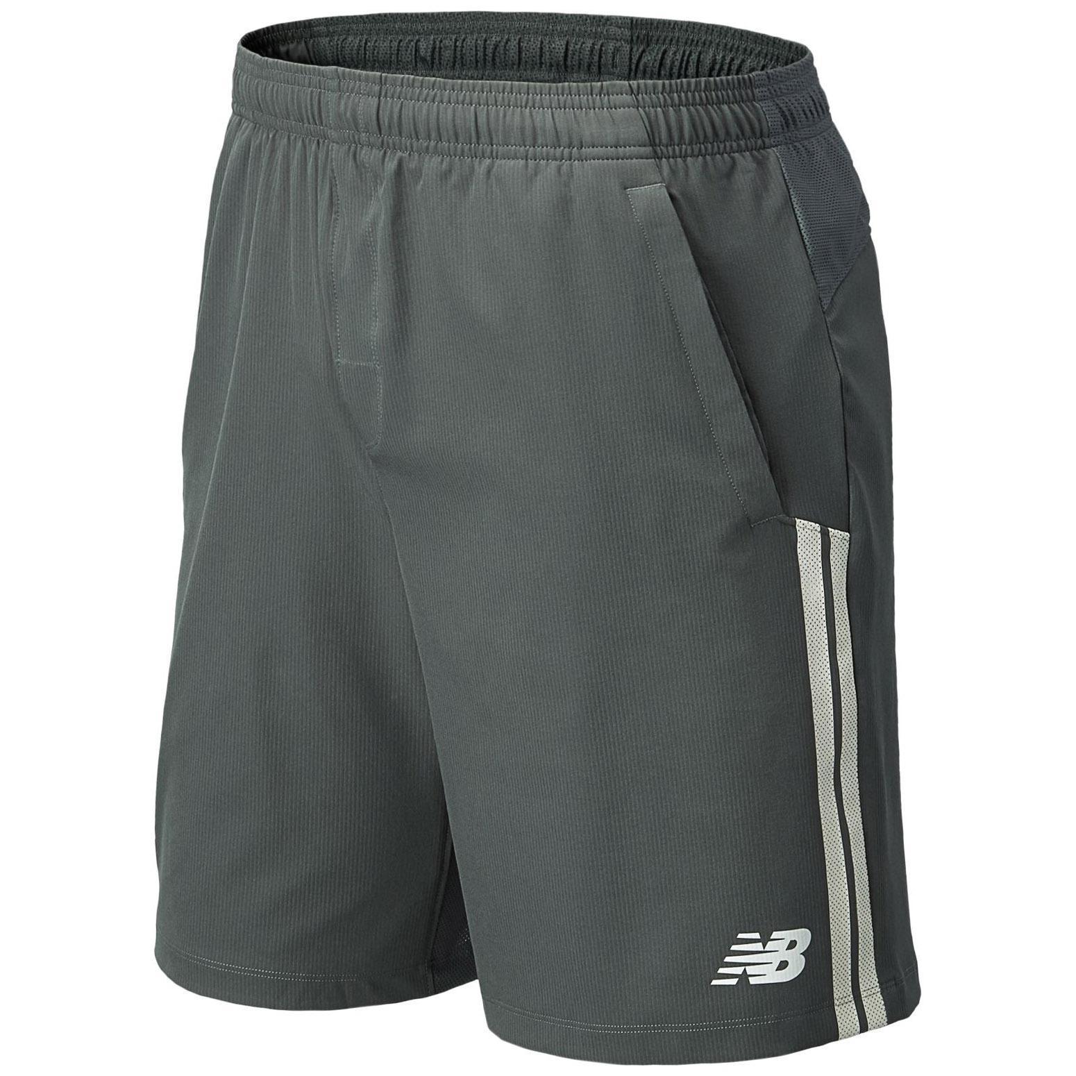 0cf6c79236cb7 New Balance Mens Tournament 9 Inch Shorts - Lead - Tennisnuts.com