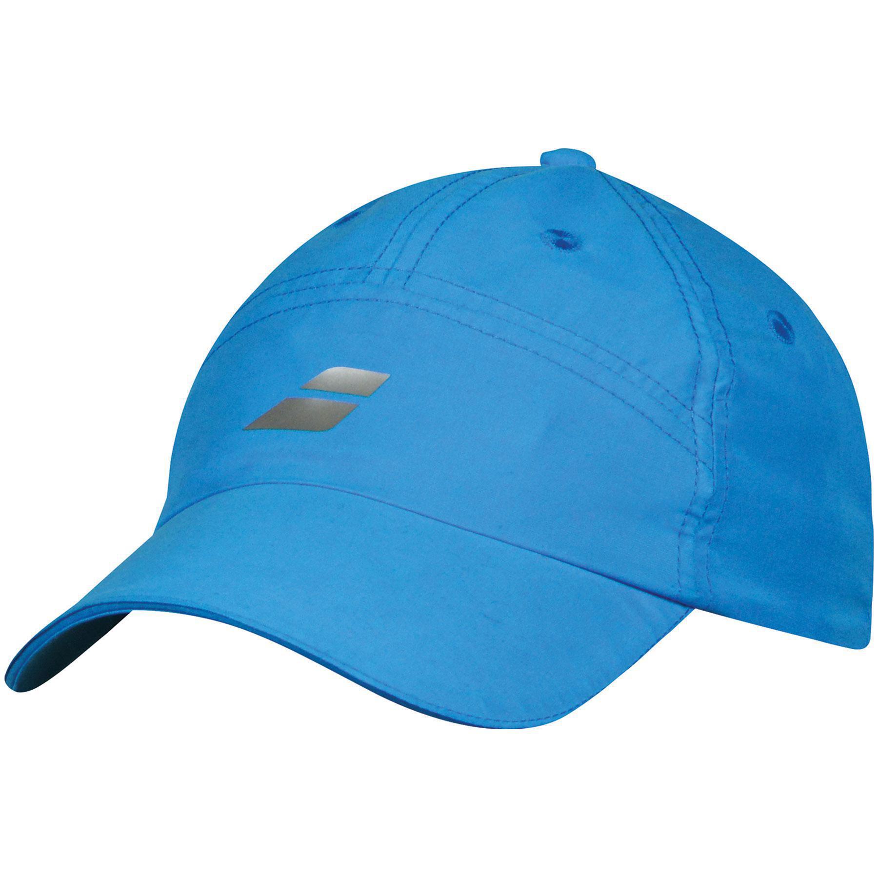d51537a1640 Babolat Microfiber Cap - Blue Drive - Tennisnuts.com