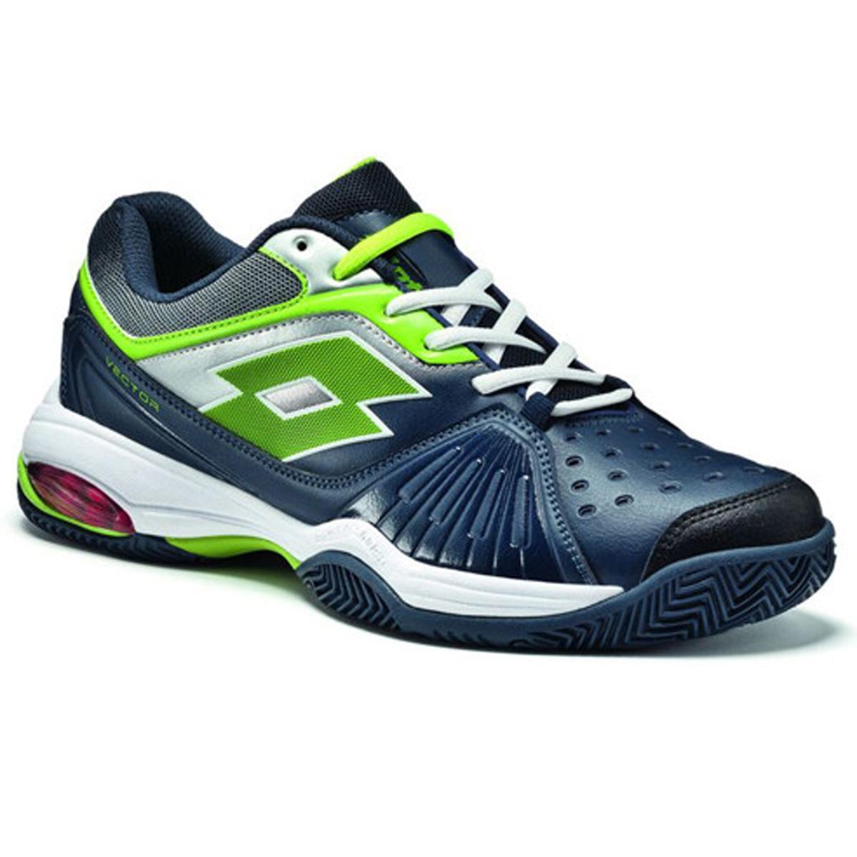 Lotto Mens Vector VI Tennis Shoe - Blue