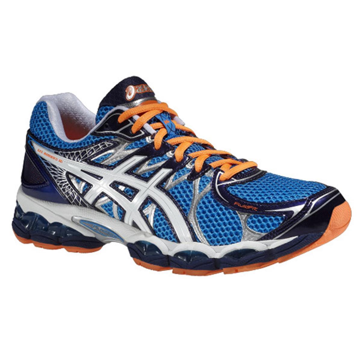 Asics Mens GEL Nimbus 16 Running Shoes BlueWhite